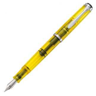Pelikan Classic M205 DUO Highlighter Fountain Pen - Yellow