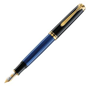 Pelikan Souveran M400 Fountain Pen - Blue / Black