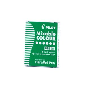 PILOT Parallel Mixable Ink, Cartridges - Green