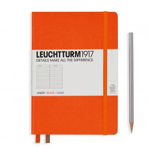Leuchtturm1917 Notebook Medium (A5), Hardcover - Orange