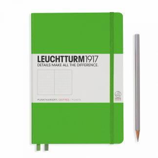 Leuchtturm1917 Notebook Medium (A5), Hardcover - Fresh Green