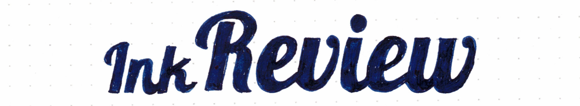 Diamine Oxford Blue - Ink Review