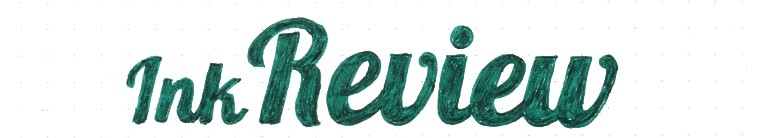 Pelikan 4001 Dark Green - Ink Review
