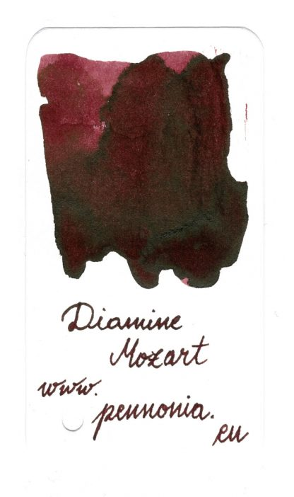 Diamine Music Mozart swatch