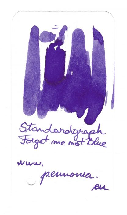 Standardgraph Forget me not Blue