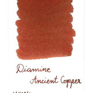 Diamine Ancient Copper updated swatch