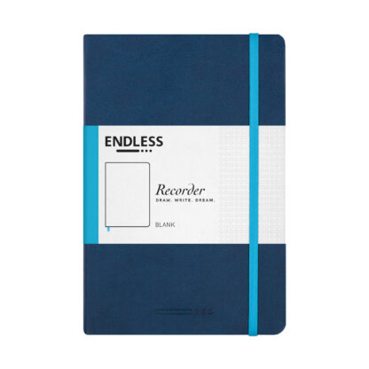Endless Recorder Blue Blank Front