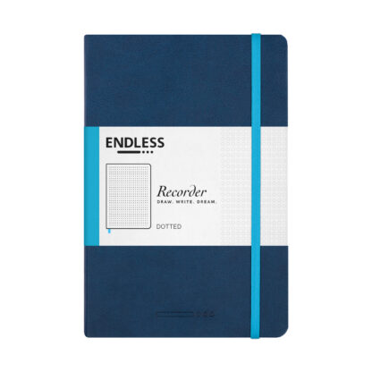 Endless Recorder Blue Dotted Front