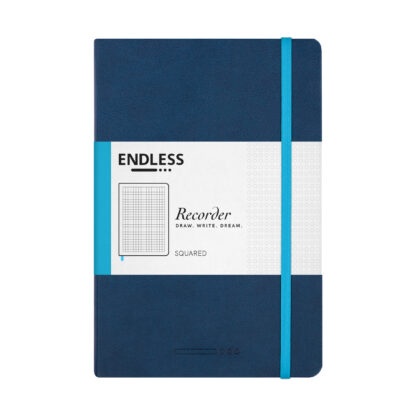 Endless Recorder Blue Squared Front