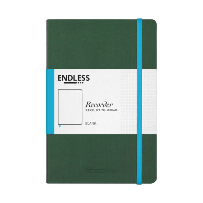 Endless Recorder Green Blank Front
